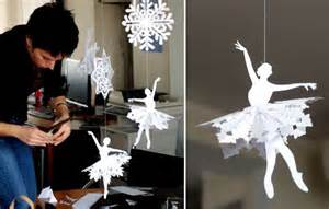 Make Home Decor by Christmas And New Year Home Decor Making Snowflakes