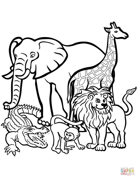 coloring pages endangered animals endangered animals coloring pages zoo animals coloring