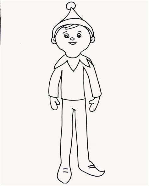 on the shelf colors on the shelf coloring page for elfie and the to