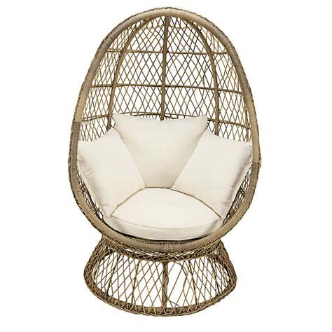 wicker egg chair cushion resin garden chair shop for cheap sheds garden