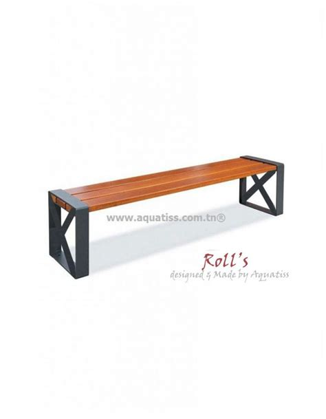 Banc Design Exterieur by Banc Ext 233 Rieur Bois Design Aquatiss Tunisie