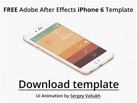 free adobe after effect templates free adobe after effects weather template free