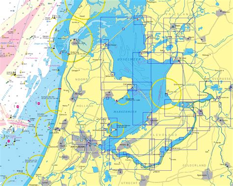 map ijsselmeer netherlands ijsselmeer karte