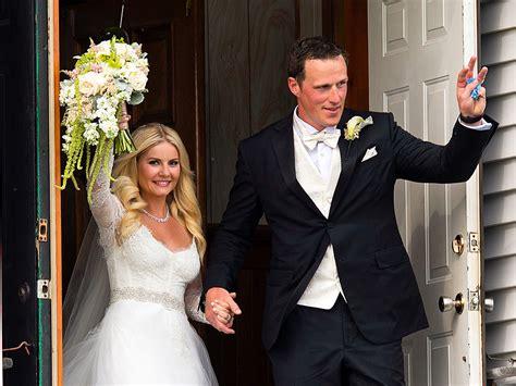 elisha cuthbert wedding elisha cuthbert weds dion phaneuf people