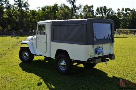 land cruiser pickup v8 1964 fj45 toyota land crusier short bed pickup w pro sbc