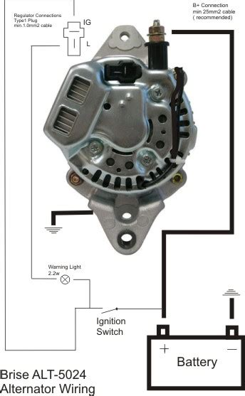 denso mini alternator wiring repair wiring scheme