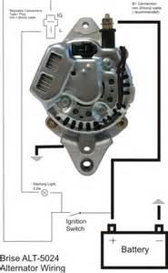 denso 5021 alternator brise electronics