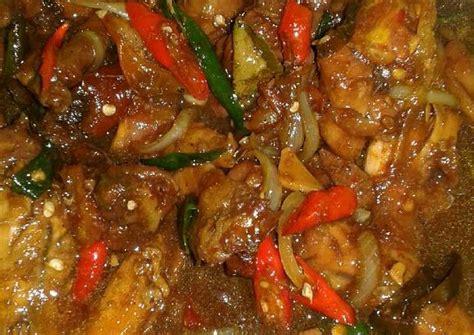 resep ayam kecap pedas manis nyoos evigani oleh evi