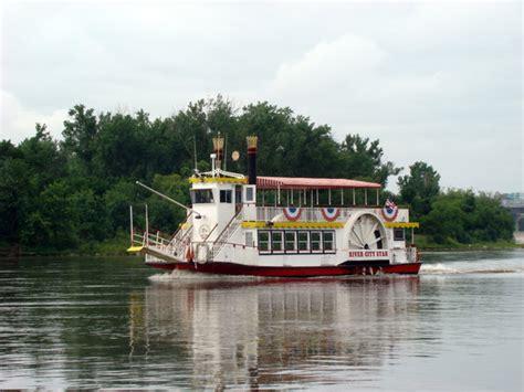 omaha boat rental vacation river city star riverboat omaha traveller