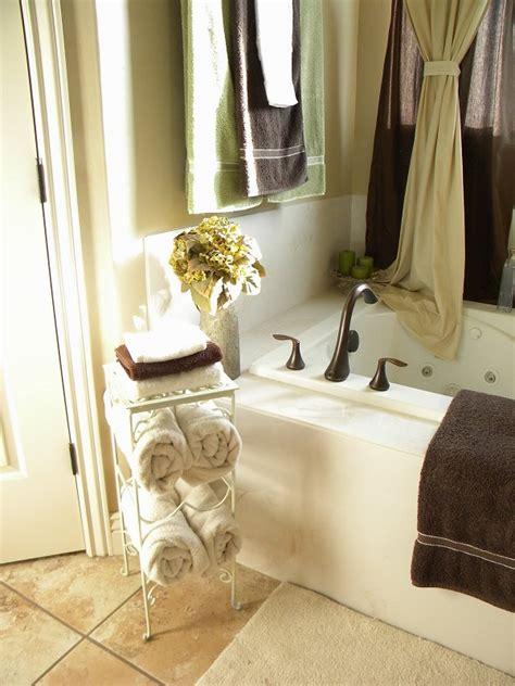 diy towel racks   chic bathroom update