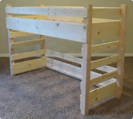 Twin Size Loft Bed Plans Free by Diy Loft Bed Toddler Kids Diy Loft Bed Plans Fits A Crib Size Mattress On Top Or Ikea Vinka