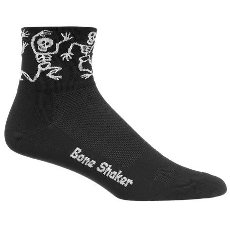 Socks X Bone wiggle defeet aireator bone shaker socks cycling socks