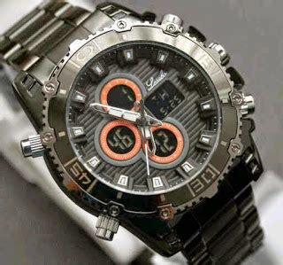Lasebo Original Diameter 4 5 Cm jam tangan lasebo 8023 bulat merah