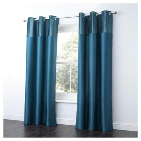 Teal Taffeta Curtains Buy Tesco Velvet Taffeta Curtains Lined Eyelet W137xl229cm 54x90 Quot Teal From Our Eyelet