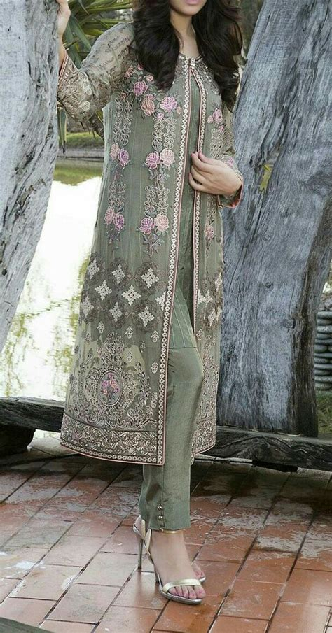 front open double shirt dresses frocks designs