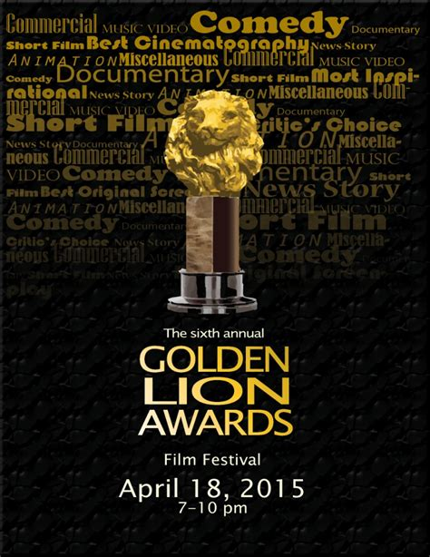 golden lion film production golden lion awardsabout