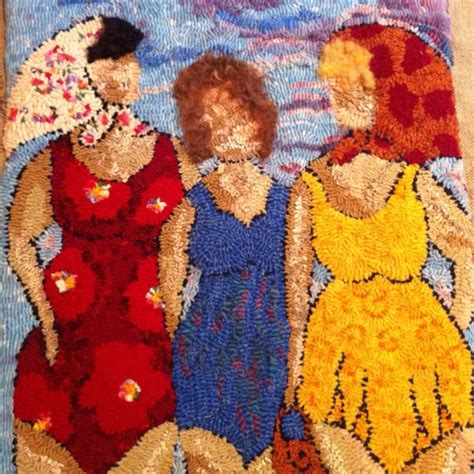 deanne fitzpatrick rugs three at the a deanne fitzpatrick design rug hooking quot the quot