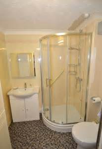 Small bathroom corner shower for dry and wet bathroom vectronstudios