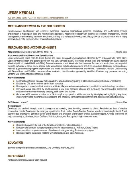 Resume Objective Visual Merchandiser Application Letter Sle Cover Letter Template Visual Merchandiser