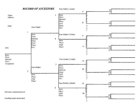 blank family tree diagram 10 best images of family tree forms to copy free