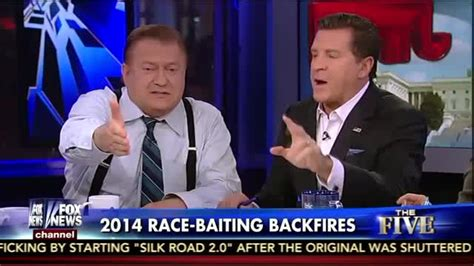 fox news bob beckel flips the bird on live television bob beckel flips middle finger to jesse watters on air