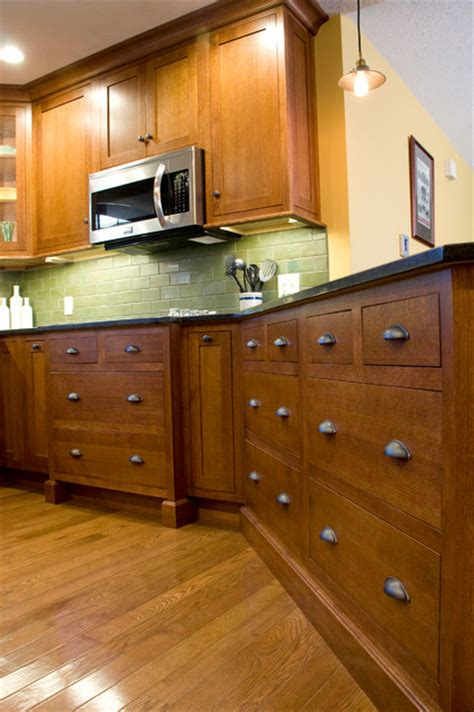 quarter sawn oak cabinets kitchen quarter sawn inset oak kitchen craftsman kitchen