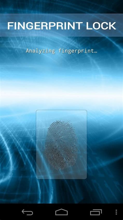 android fingerprint best free fingerprint lock security apps for android innov8tiv