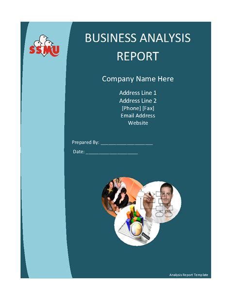 analysis report template png