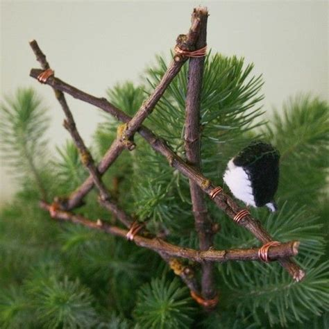 rustic christmas tree topper christmas pinterest