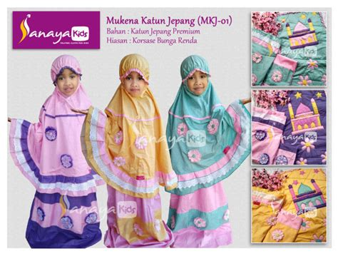 Grosir Kaos Anak Karakter Motif Putih 1 6 T produsen mukena anak sanayakids 0857 1010 6161 mukena