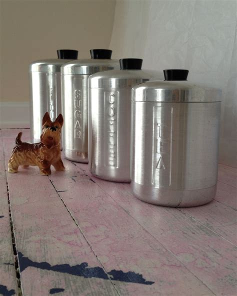 canisters kitchen canisters set metal canister set 4 pieces