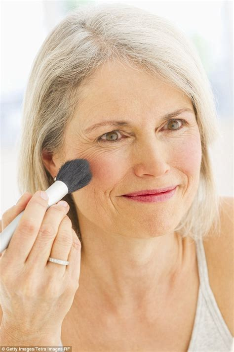 makeup technique for women over 70 how foundation bronzer and eyeshadow could be adding