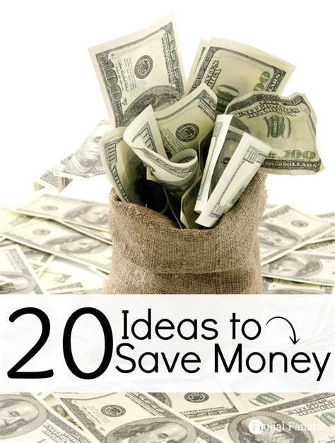 5 Money Ideas That Take 20 Ideas On How To Save Money Frugal Fanatic