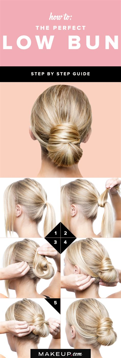 how to put the worlds greatest hair buns with braids low bun hair tutorials and celebrity looks fashionsy com