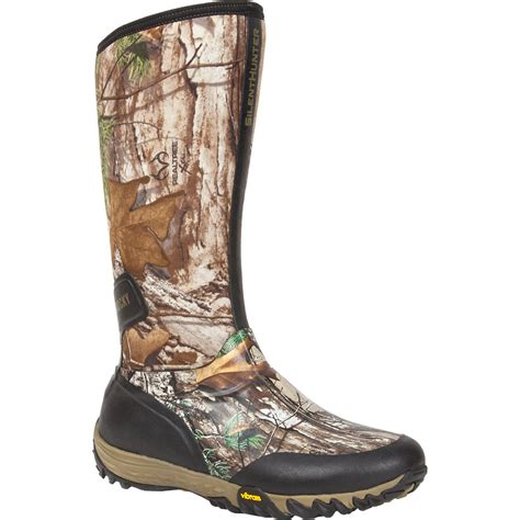 ace hardware safety shoes waterproof insulated camo rubber boot rocky silenthunter