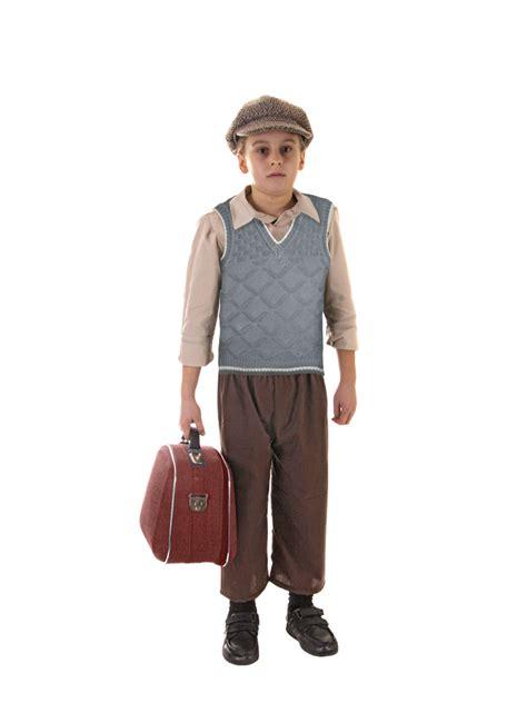 world war 2 outfits evacuee boy hat fancy dress ww2 1940s child kids world