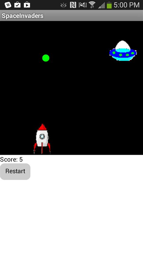 Android Canvas Animation by Space Invaders Explore Mit App Inventor