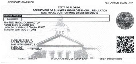 Plumbing License Florida by Solar Direct Certificates And Licenses Highly Qualified