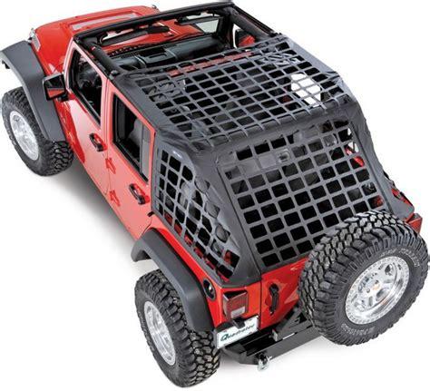 Jeep Wrangler Cargo Net The Smittybilt C Res Cargo Restraint System In Black For