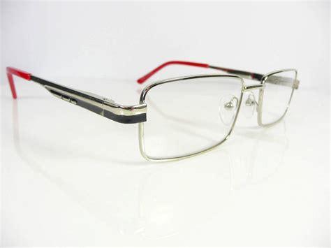 new mens designer metal chrome reading glasses 1 1
