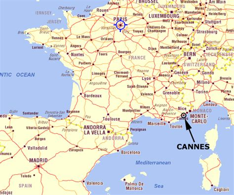 on map maps of cannes