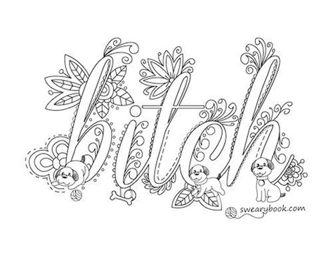Coloring Page Words by Colouring Pictures With Words The Jinni
