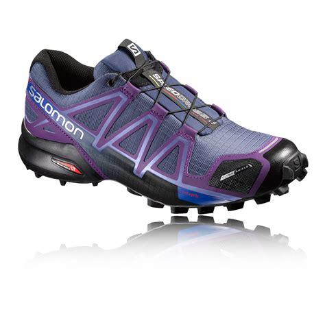 salomon athletic shoes salomon speedcross 4 cs womens trail running shoes ss17