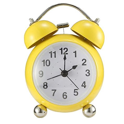 twin bell alarm clock drillpro wind  loud bell alarm