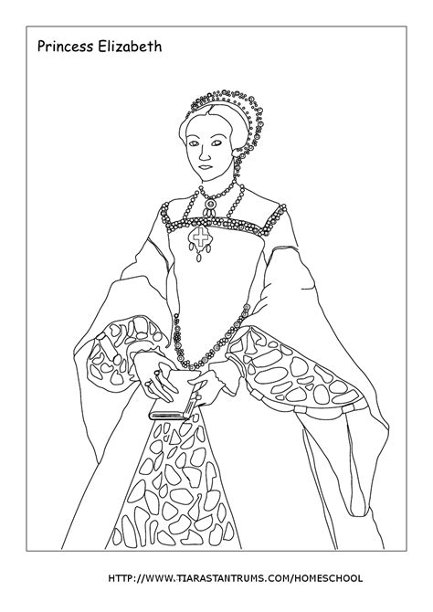 Henry Viii Coloring Pages
