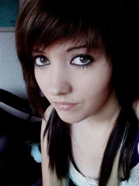 emo hairstyles no bangs long emo hairstyle with side swept bangs make hairstyles