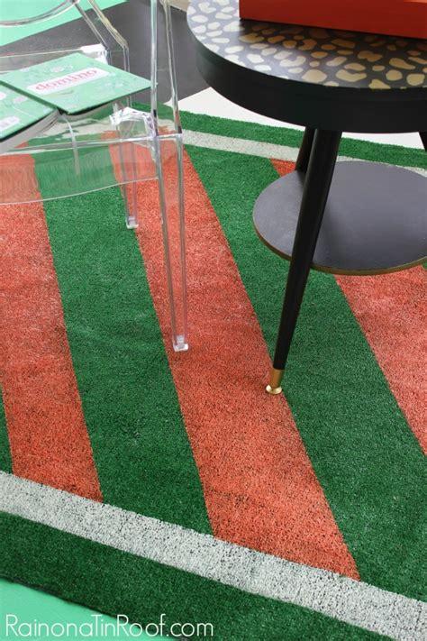 astroturf rug diy painted astroturf rug for summer events