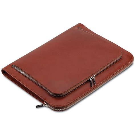 pineider power elegance leather business pineider power elegance leather underarm document reddish brown