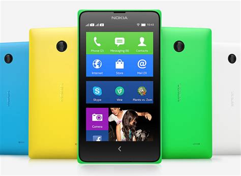 android rumors the rumors were true nokia x phones run android but only just 9to5google