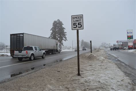 section 41 highways act police give views on speed limit hikes news sports